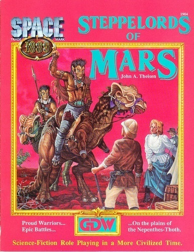Classic RPG before the invention of what we would call steampunk!