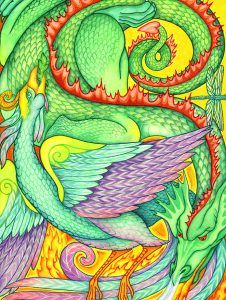 Dragon & Phoenix Francene Hart