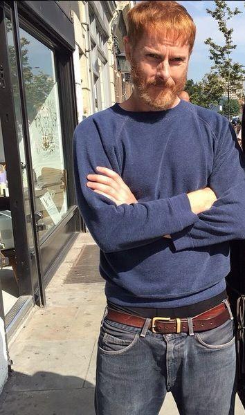 Sean with beard