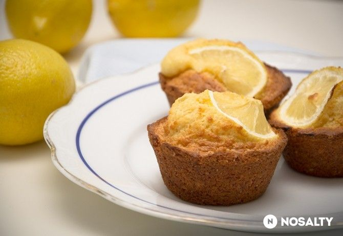Illatos-citromos muffin