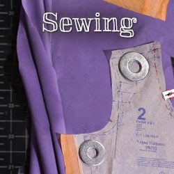 Learn basic sewing techniques, make a handbag or discover how to sew couture garments with experienced designers and sewists.  - via @Craftsy