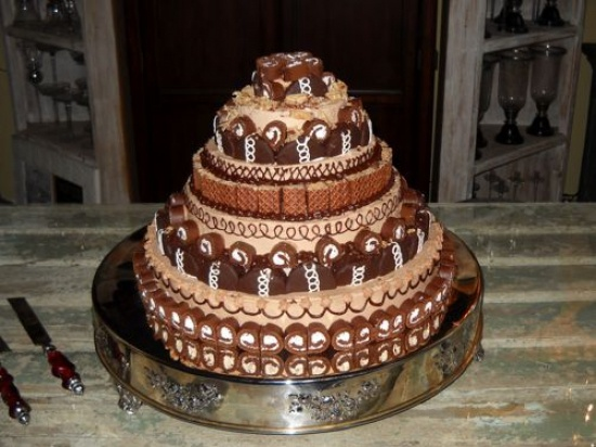 Little Debbie Wedding Cake