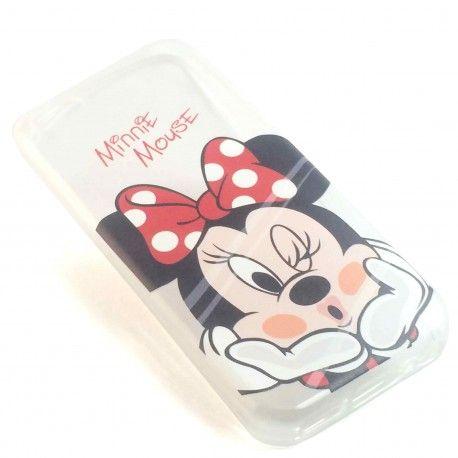 Coque minnie mousse disney silicone transparent iPhone 5c