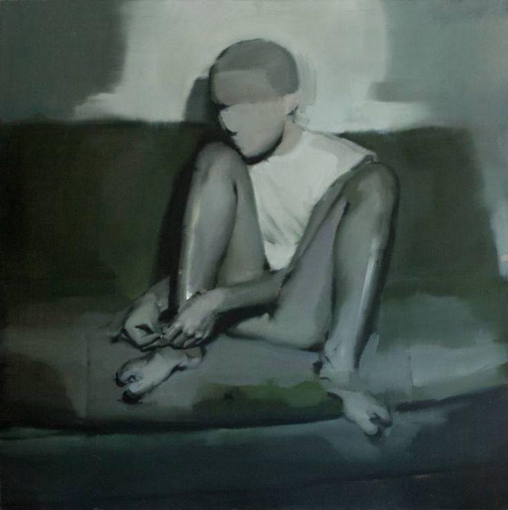 "Saatchi Art Artist Ales Brazdil; Painting, ""The Legs 2"" #art"