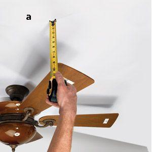 Balancing A Ceiling Fan Ceiling Fan Diy Home