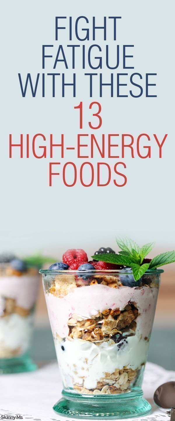 Fight Fatigue With These 13 High Energy Foods!