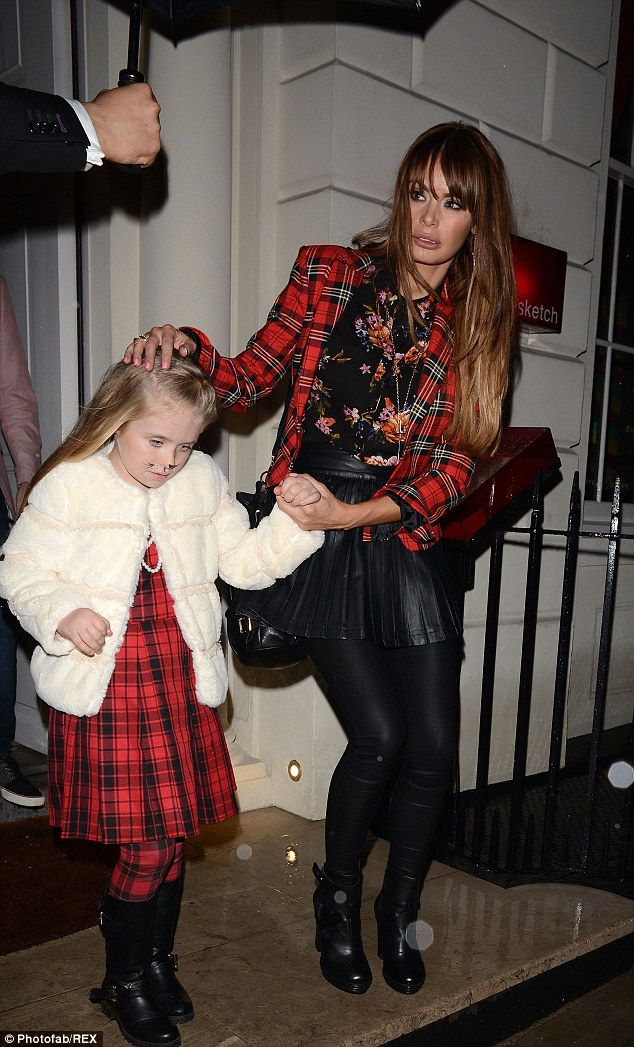Chloe Sims takes daughter to Halloween Party on school night!
