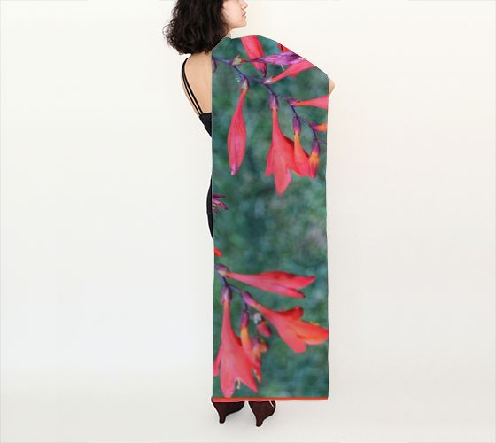 """""""Red Trumpet Vine"""" 