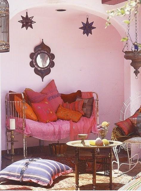 Morrocan pink orange - great grown up pink