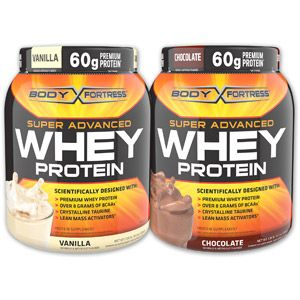 Body Fortress Whey Protein 2pack Bundle, Choice of Flavors