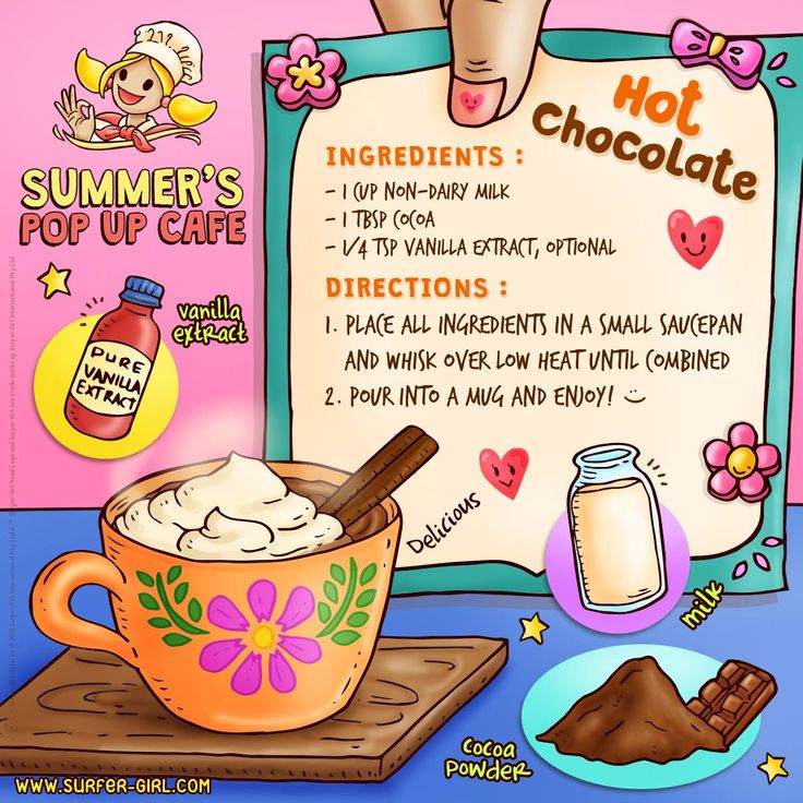 Hi Girls ^^ Happiness is homemade! And so is homemade hot chocolate, hehe :) Perfect to drink at night or when you need to relax ^^ Now, why don't we make some for our loved ones? Hehe.. Love, Summer <3 #surfergirl #positivedifference #healthyrecipe