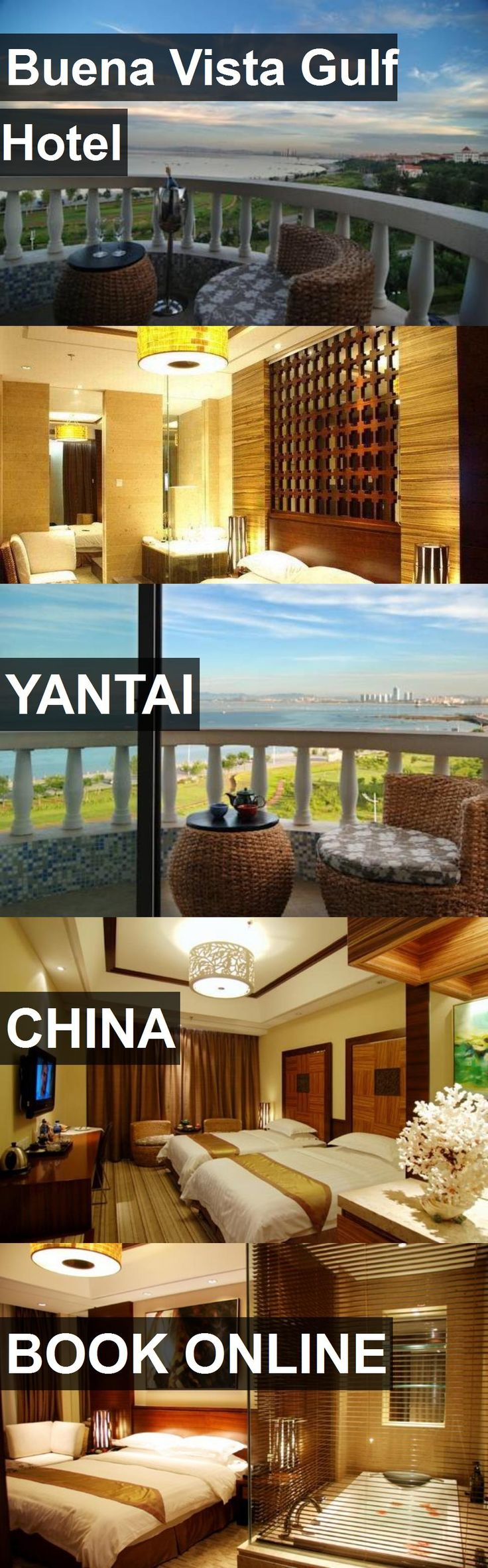Hotel Buena Vista Gulf Hotel in Yantai, China. For more information, photos, reviews and best prices please follow the link. #China #Yantai #BuenaVistaGulfHotel #hotel #travel #vacation