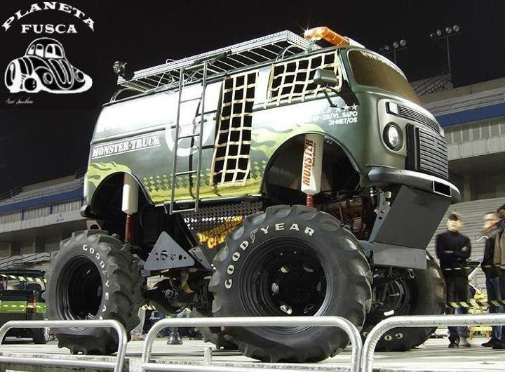 VW Camper Monster Truck (bus / campervan / van / Volkswagen)