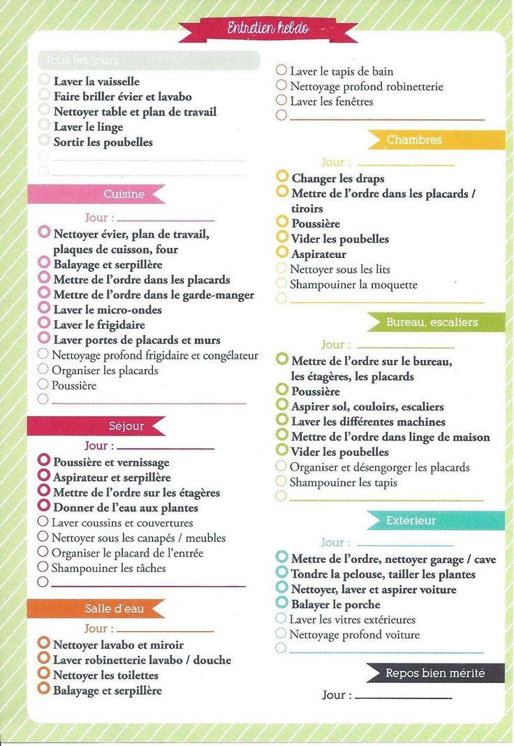 31 best Entretien maison rangement images on Pinterest Good ideas - Produit Nettoyage Mur Exterieur