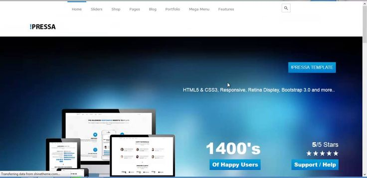 PRESSA -  Multi Purpose Wordpress Theme