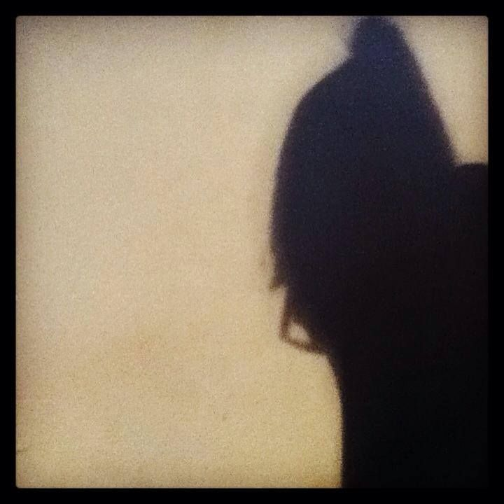 Woman in thought shadow art by MaxAna X