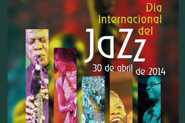 """Hoy, 30 de Abril se celebra el """"Día Internacional Del #Jazz"""" esta fecha fue proclamada por la Conferencia General de la UNESCO en noviembre de 2011.  La celebración de esta jornada tiene como objetivo sensibilizar al público en general sobre las virtudes de la música jazz como herramienta educativa y como motor para la paz, la unidad, el diálogo y el refuerzo de la cooperación entre pueblos.   ¡¡ Feliz Día del Jazz !!"""