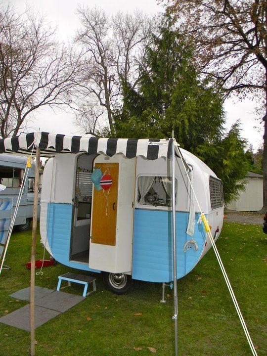 I want a little camper like this SOOOO bad!