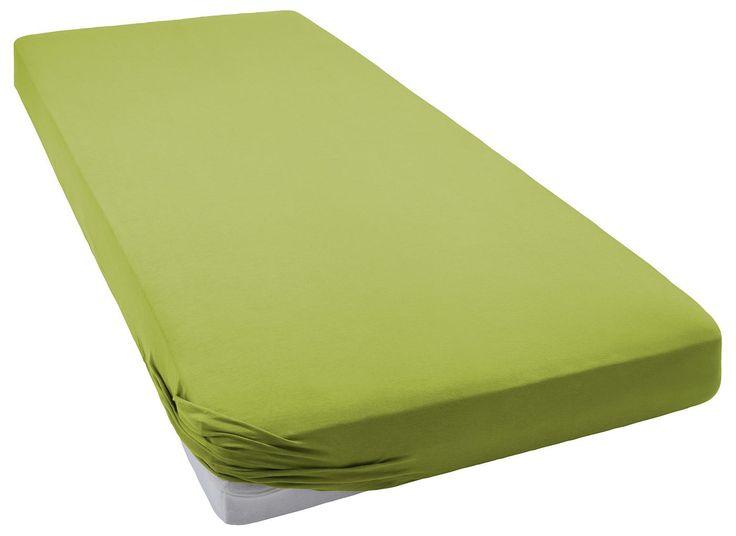 Hochwertiges Spannbettlaken »Sheet« der Marke KAS. Die tollen Farben und die hochwertige Qualität aus 97% Baumwolle und 3% Elasthan bei einem hohen Flächengewicht von 160g/m² machen dieses Bettlaken zu etwas Besonderem. Der Gummizug an den Ecken macht das Beziehen zum Kinderspiel und die pflegeleichten Eigenschaften vereinfachen zusätzlich den Gebrauch im Alltag. Schlafen Sie wunderbar weich un...