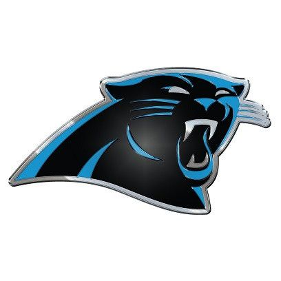 The Carolina Panthers Logo Auto Emblem looks fantastic and installs easily on cars and trucks.