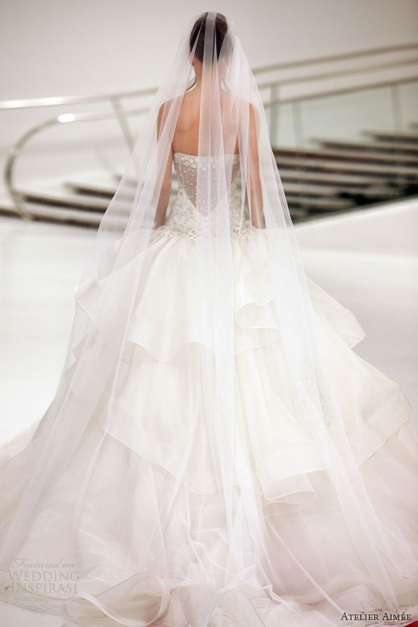 atelier aimee wedding dresses 2014 barbara strapless ball gown