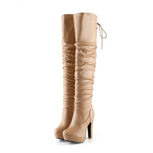 Thigh High Full B...  #buy it at  ReShop Store  here http://www.reshopstore.com/products/thigh-high-full-boots-thick-high-heels-platform?utm_campaign=social_autopilot&utm_source=pin&utm_medium=pin