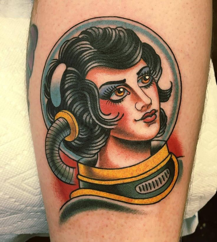 372 best images about spaceman tattoos art on pinterest