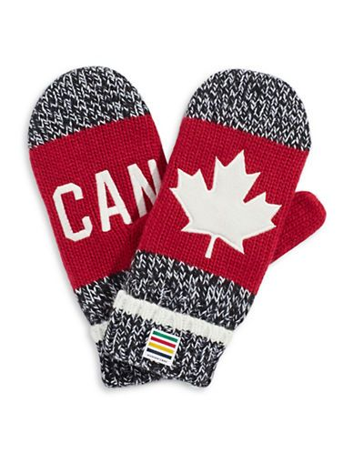 HBC Collections | Olympic Collection | 2016 Canada Red Mittens Adult | Hudson's Bay