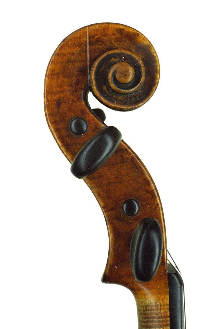 Old wood minerale interior of violin - Albani Joseph Bozen 1690