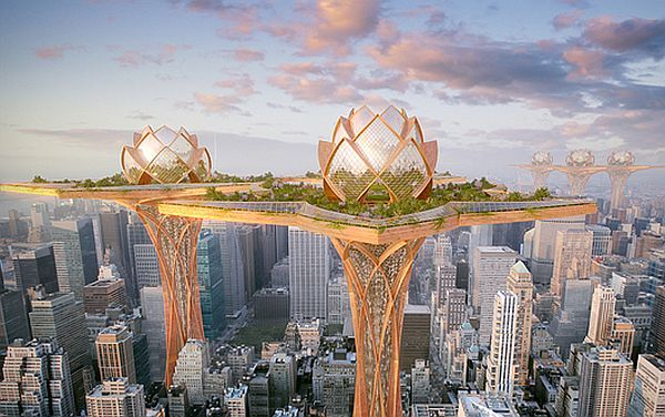 City in the Sky to offers earth's inhabitants an escape from their murky surroundings