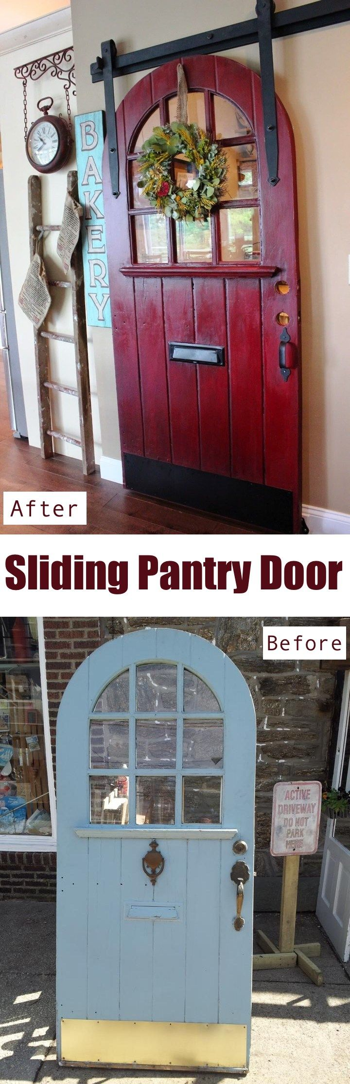 Sliding Pantry Door