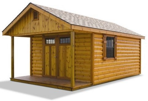 25 best ideas about pre built sheds on pinterest tiny for Pre built sheds