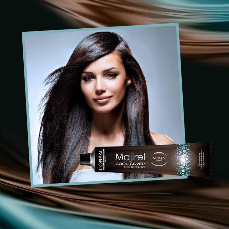 ¡Disfrute de los tonos más frescos del verano!  La coloración COOL COVER de Majirel ofrece colores fríos de moda, cobertura perfecta, cosmeticidad y brillo. Consígalos con L'Oréal Professionnel en nuestros salones Madrigal.