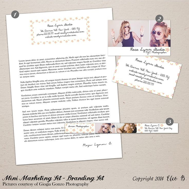 Photography Marketing Set - Photoshop Template - M009 - instant download  SHOP AT: etsy.com/shop/eleob SEARCH WITH THE CODE   Pictures by Giorgia Gonzo Photography  Model Suzana
