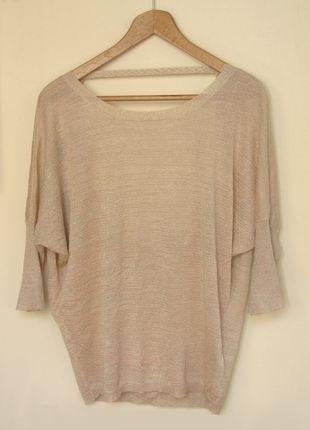 Kup mój przedmiot na #vintedpl http://www.vinted.pl/damska-odziez/swetry-z-dzianiny/8928978-bezowy-sweterek-z-odslonietymi-plecami