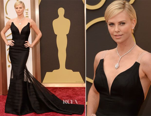 Charlize Theron In Christian Dior Couture – Oscars 2014