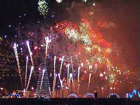 Fireworks in FUNCHAL - MADEIRA - New Year. Guinness World Record