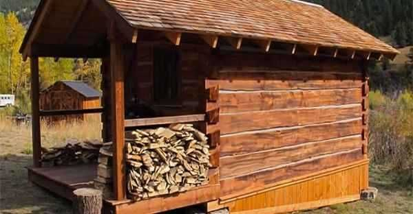 Cheap Cabins To Build Yourself Inexpensive Small Cabin: How To Build A Small Square Cabin Cheap!