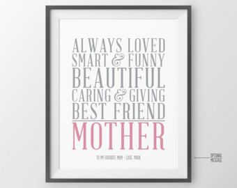 MOM Gift Personalized Gift for Mom Mother's Day Gift for