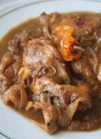 Yassa Guinaar (Chicken, Onion & Mustard) - Senegal, West Africa