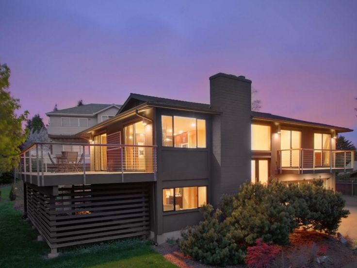 This split level home was renovated to create more for Split level kit homes