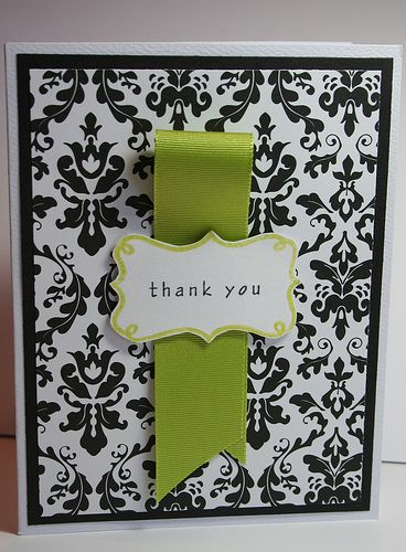 Simply elegant: Cards Ideas, Simple Ribbons, Cards Simply, Black And White, Handmade Cards, Simple Cards, Black White, Simply Elegant, Elegant Cards