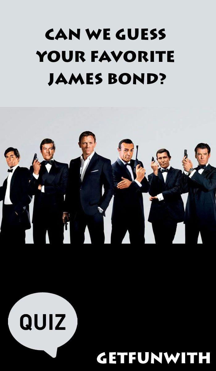Can We Guess Your Favorite James Bond? #bond #jamesbond #quiz