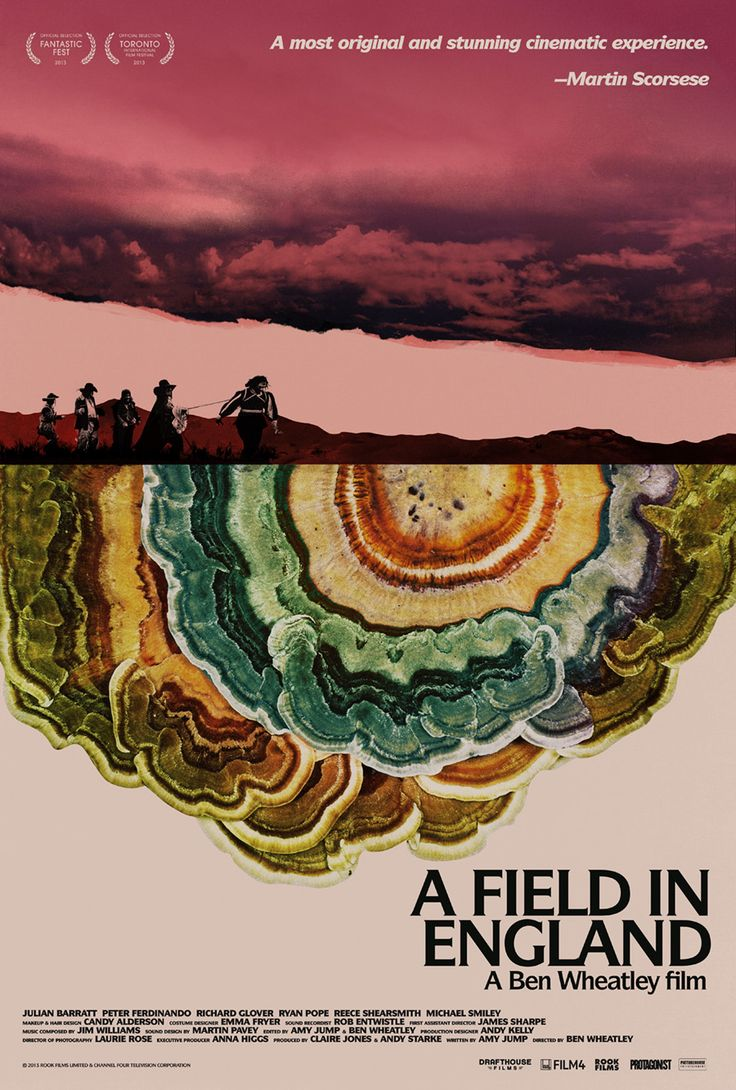 A Field in England (2013) - poster by Jay Shaw