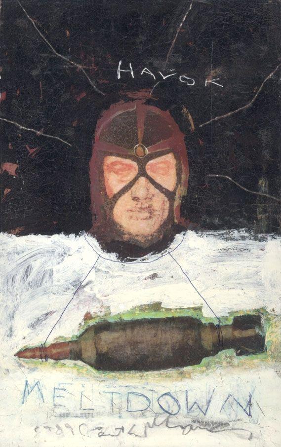 Havok / Wolverine - Meltdown Comic Art