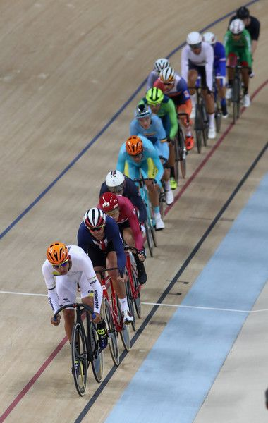 Men's Omnium Scratch Race Rio Olympic Games 2016 Getty Images