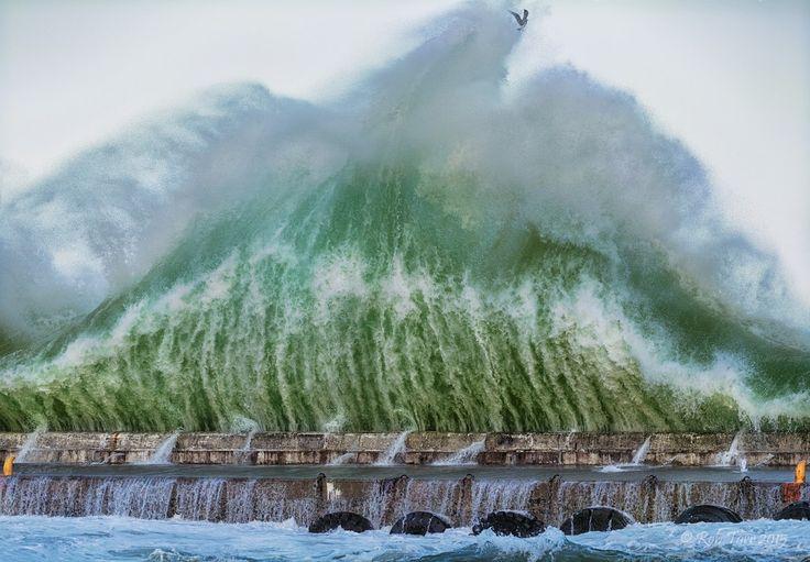 Kalk Bay waves June 2015 South Africa