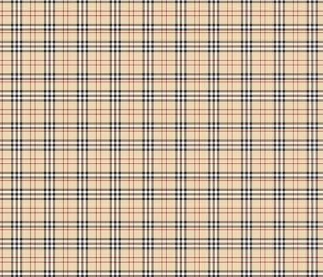 FauxBerry Burberry  fabric by shadow-people on Spoonflower - custom fabric