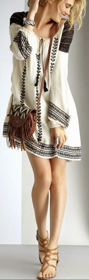 Women World Of Fashion: Gorgeous boho chic