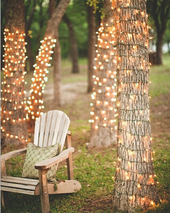 Outdoor lights to compliment your fairy theme